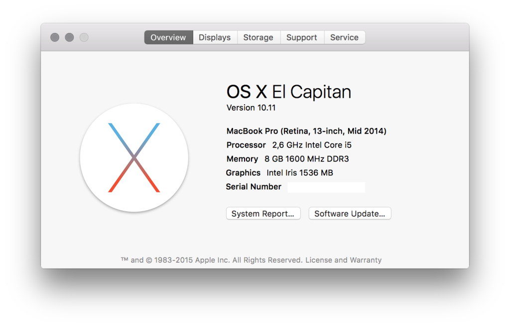After OS X El Capitan Upgrade Necessary Java Update